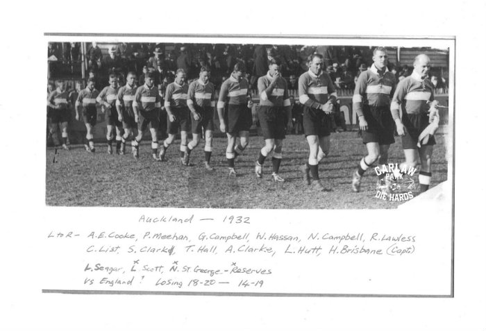 Auckland Rugby League Team 1932